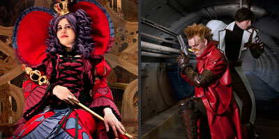 Vash, Legato and a Red Queen