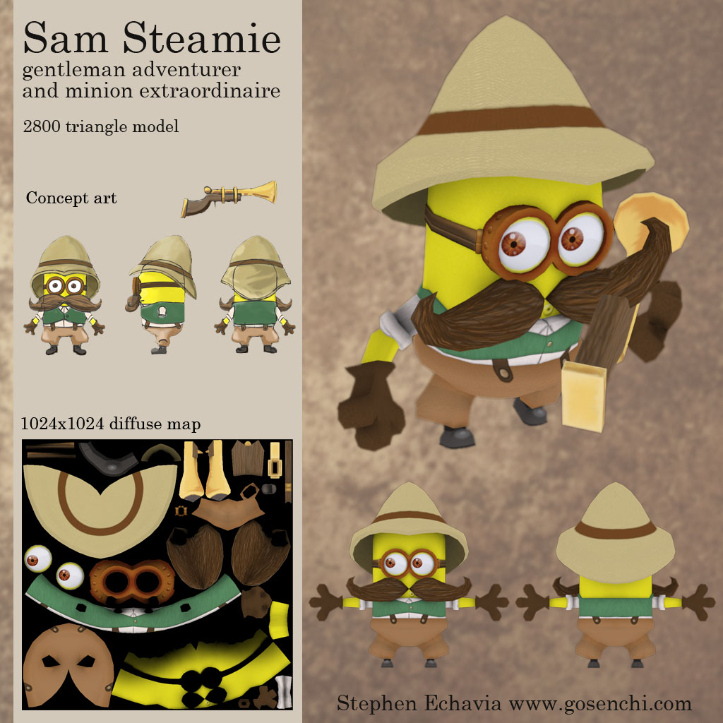 Semi Steampunk Minion