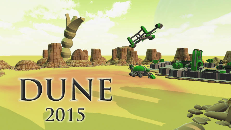 Dune 2015 – The Spice Must Flow