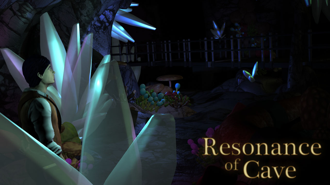 Resonance of Cave – 3d Animation